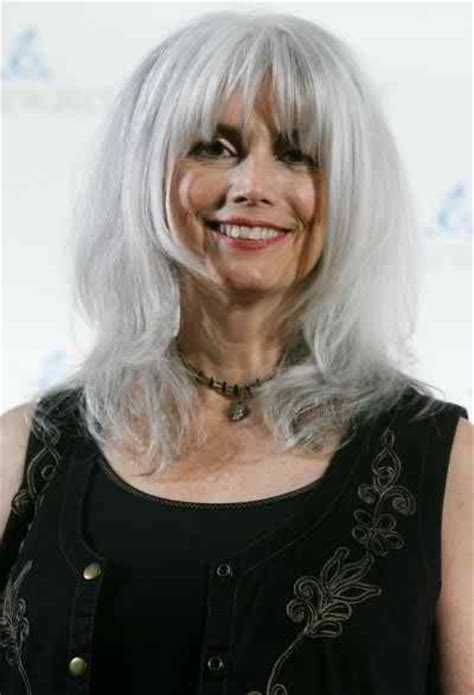 emmylou harris hairstyle  hair color