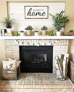 Awesome, Farmhouse, Fireplace, Mantel, Decorations, 3901, U2013, Decor, It, U0026, 39, S