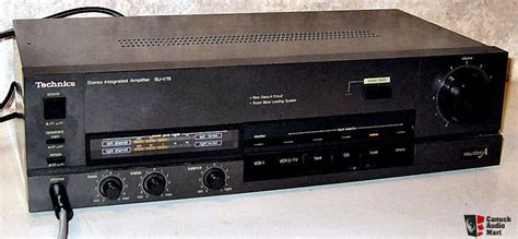 technics su  stereo integrated amplifier  class