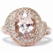 Rose Gold Morganite Vi...