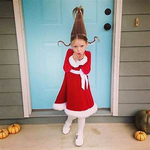 Supermom vs Me - Halloween DIY Costume- Cindy Lou Who from ...