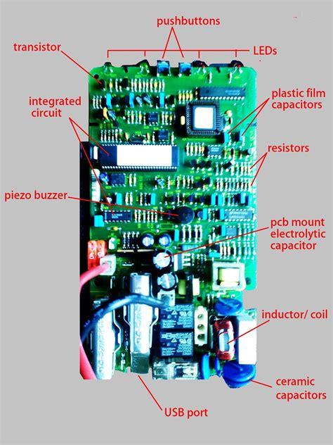 Sensor Based Electronic Art Circuit Board Labeling