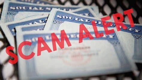 scam alert fake call  social security scam beware