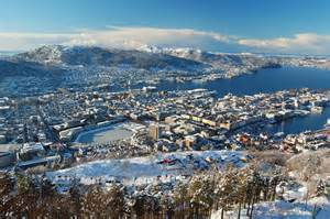 Bergen Norway Winter