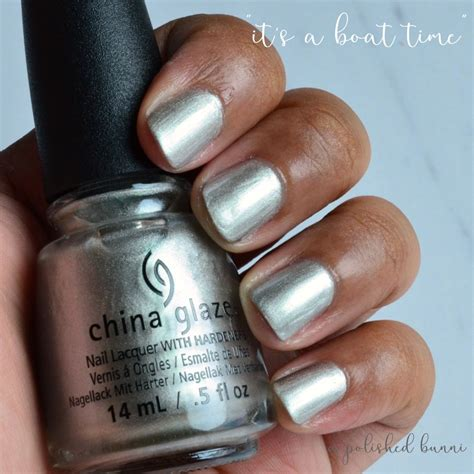 China Glaze It S A Boat Time by China Glaze Quot Fling Quot Swatches Review A Polished