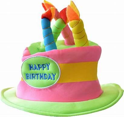 Hat Birthday Happy Transparent Clipart Clip Cake