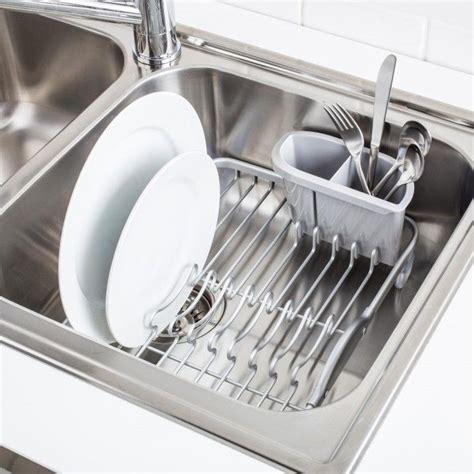 sink dish kitchen gadgets drainer racks sinks bakeware cookware storage inset kitchenstuffplus stuff plus