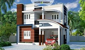 Modern, House, Front, Elevation, Archives