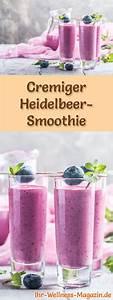 Detox Smoothie Rezepte Zum Abnehmen : heidelbeer smoothie gesundes rezept zum abnehmen smoothies ~ Frokenaadalensverden.com Haus und Dekorationen