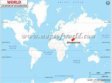Where is Afghanistan located? Location Map of Afghanistan