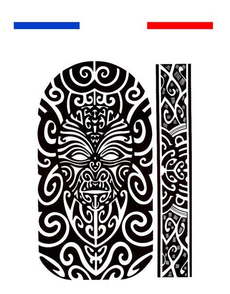 Tatouage Maori Bras Épaule  Noir  Mon Petit Tatouage