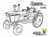 Coloring Pages Deere John Tractor Printable Farm Four Machinery Wheelers Drawing Boys Deer Colouring Sheet Clipart Printables Hardy Duals Tractors sketch template