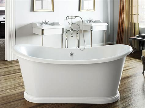 Clearwater Boat Traditional Freestanding Bath 1650mm T5c