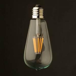 Ampoule Vintage Led : 3 ampoules led e27 pebetero argent h13 6cm faro nedgis ~ Edinachiropracticcenter.com Idées de Décoration