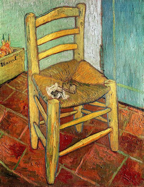 la chaise de gogh vincent 39 s chair 1888 painting by vincent gogh