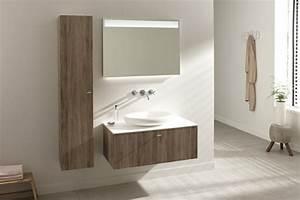 la colonne de salle de bain nos propositions en 58 photos With salle de bain beige et bois