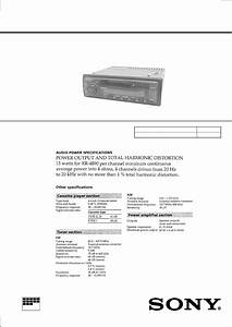 Sony Xr4890