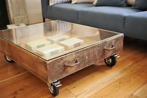 vast selections of oversized coffee tables homesfeed With coffee table on wheels with storage