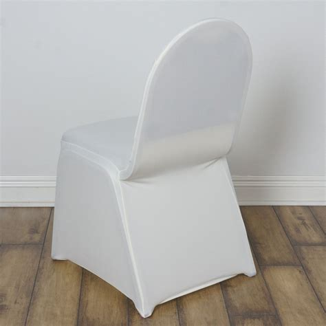ivory spandex chair cover efavormart