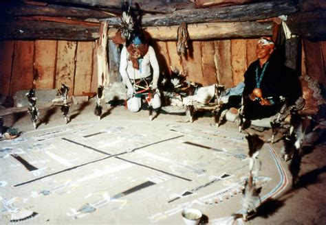 Man In The Maze The Sacred Art Of Navajo Sandpainting