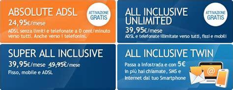 casa infostrada infostrada fibra adsl e telefono tutte le offerte