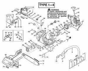 Partner 351  370  390  420  952801732  Chainsaw Chassis