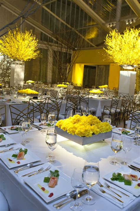 wow yellow    chairs square tables