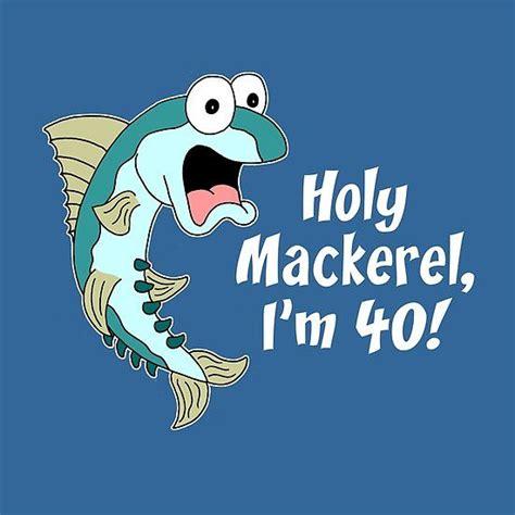 holy mackerel im  funny  fish cartoon  images
