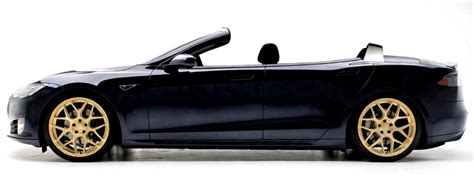 tesla model  convertible newport engineering