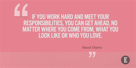 barack obama quotes  hard work success motivation