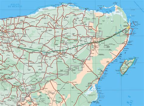 quintana roo mapa pictures  pin  pinterest pinsdaddy