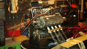 1  6 Scale Liberty Classics Ford Top Fuel Dragster Engine