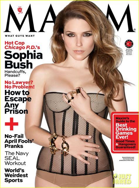 Sophia Bush Is Super Sexy In Hot Lingerie For Maxim