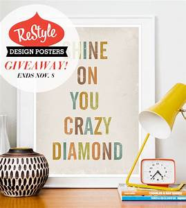 Restyle Poster Print Giveaway // Ended - Veda House Veda House