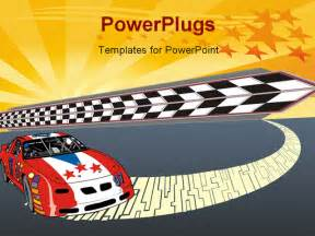 Race Car PowerPoint Template