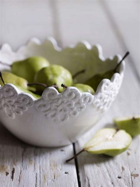shabby chic fruit bowl shabby chic lace fruit bowl 163 9 60 at house of fraser ra blanc pinterest lace shabby and