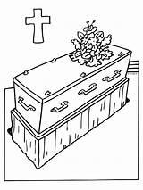 Funeral Dibujos Coloring Begrafenis Kleurplaten Dood Beerdigung Overleden Ausmalbilder Tod Kleurplaat Muerte Malvorlagen Verstorbene Enterrement Voor Fallecido Mort Serie Bloemen sketch template