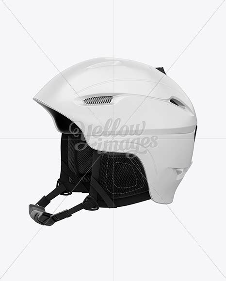 Free mockups and design tools. Download Ski Helmet Mockup - Left Half Side View PSD