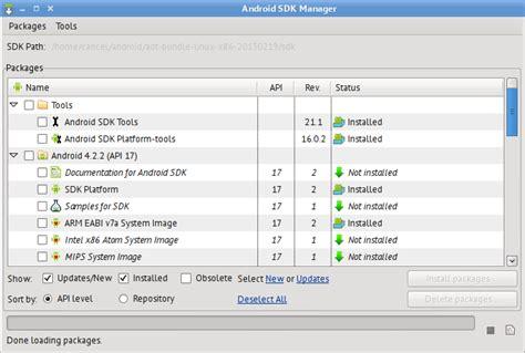 android sdk manager android sdk manager как пользоваться софт портал