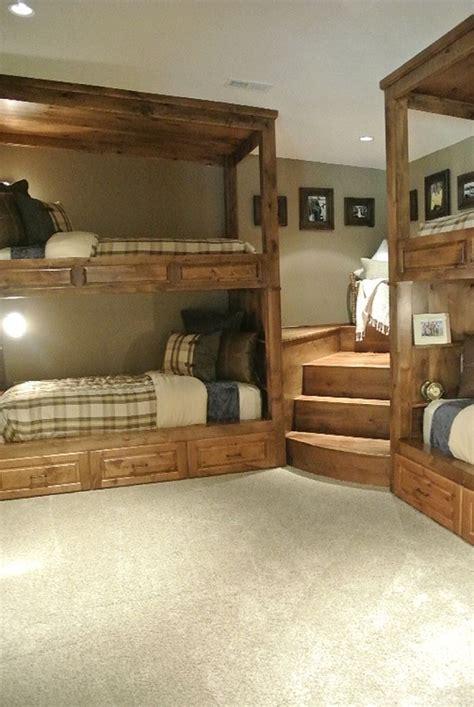 bedroom built  bunk beds  lasting durability