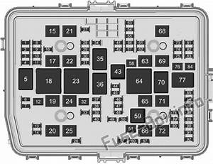 Fuse Box Diagram Chevrolet Silverado  Mk4  2019