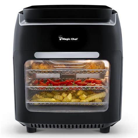air fryer oven digital cooking dehydrator rotisserie trays qt
