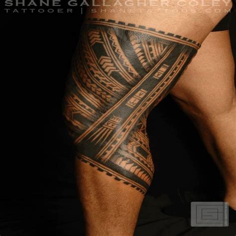 Tatouage Polynesien Cuisse Homme  Fashion Designs
