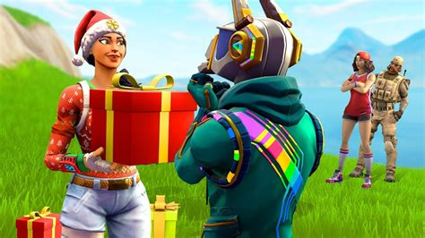 gifted   fortnite clan  skins youtube