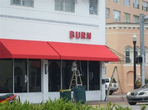 Commercial Awnings Intallation Miami Beach. Sunshine