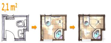Gäste Wc 1 Qm by Badplanung Beispiel 2 1 Qm G 228 Ste Wc Wird Zum Zweitbad
