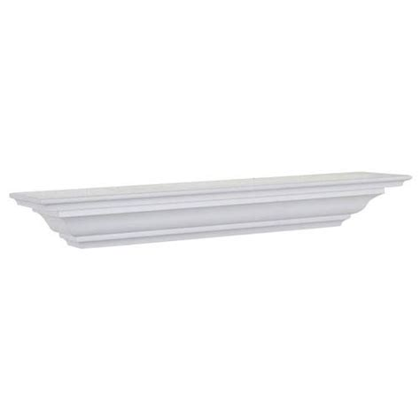36 inch white floating shelves white crown molding shelf 5 x 36 x 4 inches woodland 7335
