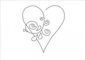 Heart Tin Punch Templates and Patterns