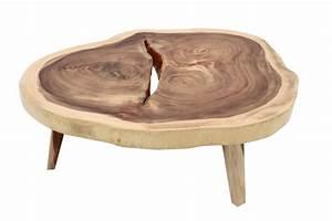 Table Basse Tronc : table basse bois flotte accueil design et mobilier ~ Teatrodelosmanantiales.com Idées de Décoration