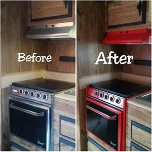 1000 ideas about camper makeover on pinterest pop up With kitchen colors with white cabinets with happy camper sticker